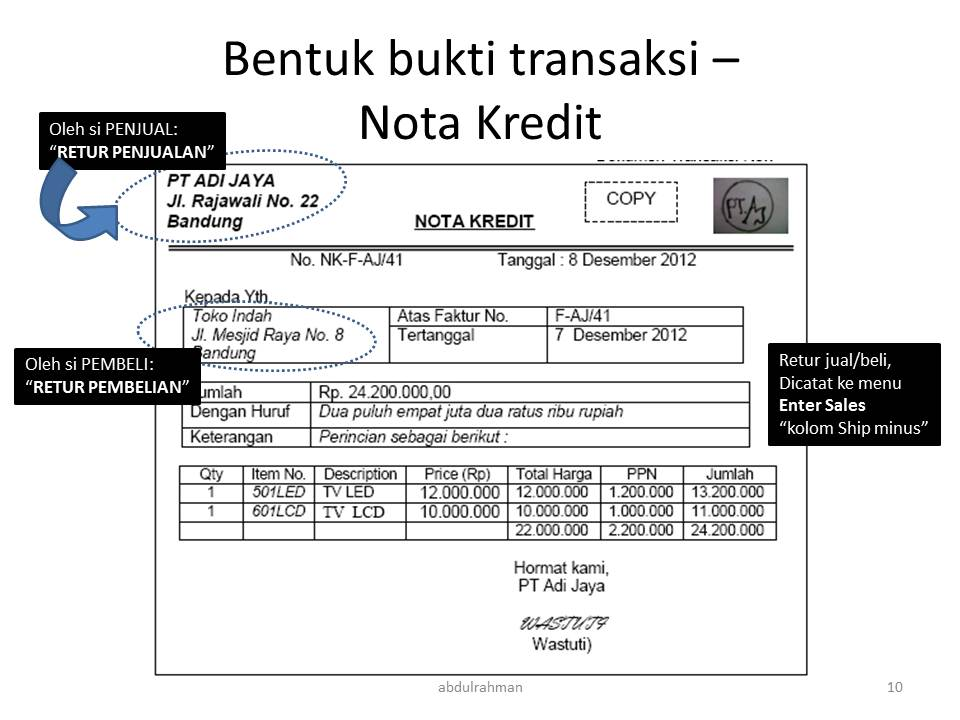 Myob18ed Analisis Bukti Transaksi Abdrahwordpresscom